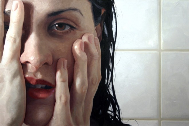 hyper-realistic-oil-painting-glass-window-water-steam-flesh-alyssa-monks-fineart-best-beautiful-award-5